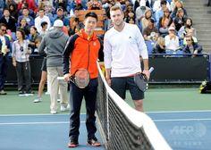 Kei Nishikori and Jack Sock