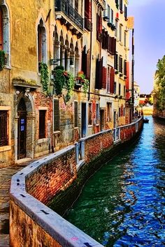 Venezia. Not really a water type or even Italy travel fan but I think I might like to see it before it totally crumbles into the ocean.
