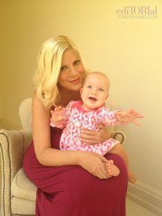 Tori Spelling et sa fille Hattie Margaret âgée de 10 mois !