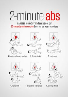 2 Min Ab Workout | Posted By: NewHowtoLoseBellyFat.com