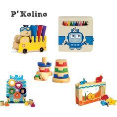 P'Kolino Kids Toys by marychu, via Polyvore