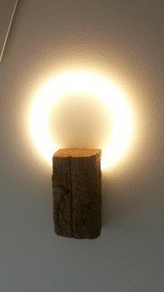 Old Wood neon lamp of Andrea Baldan