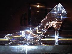 Cinderella....glass slipper