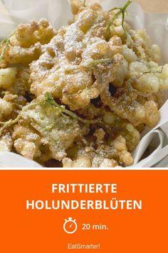 Frittierte Holunderblüten - smarter - Zeit: 20 Min. | eatsmarter.de
