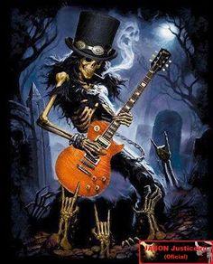 Bildergebnis für rock n roll caveira Guitar Tattoo, Guitar Art, Guns N Roses, Hard Rock, Metallica, Arte Pink Floyd, Rock And Roll, Digital Foto, Heavy Metal Art