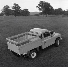 Land Rover 109 Serie III truck cabin.