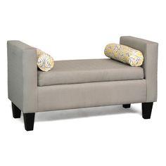 Mercury Row Kronos Upholstered Bedroom Bench & Reviews   Wayfair
