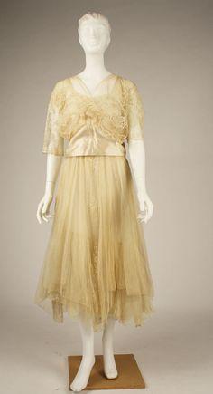 1915 evening dress
