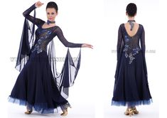 tailor made ballroom dance dresses,dance gowns shop:SK-BD113