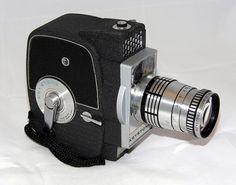 Vintage Keystone Model K-7 Electric Eye 8mm Movie Camera With Zoom Lens, Circa 1961