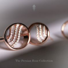 Rose #gold became popular at the start of the 19th century, especially in Russia; which has led to it being occasionally referred to as 'Russian gold', as well as sometimes being termed 'pink gold' or 'red gold'. View our Persian Rose Collection! http://shardsoflondon.com/   #Jewelry #Jewellery