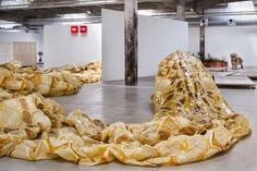 From The Skyline: Huang Yong Ping // Mues,2014.Galerie Hangar_A_Bananes de Nantes