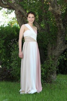 Robe callas napolitaine Prom Dresses, Formal Dresses, Creations, One Shoulder, Fashion, Dress, Moda, Formal Gowns, La Mode