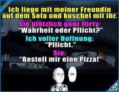 Sie weiß wie man's macht! #Beziehung #Pizzaliebe #Freundin #Spruchbilder #lustigeStories #Humor #lachen
