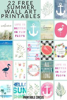 Cactus Wall Art, Cactus Print, Free Summer, Summer Art, Printable Pictures, Freebies, Digital Print, Free Prints, Botanical Prints