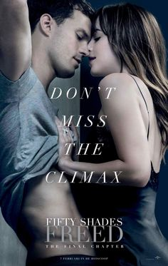 Very hot Fifty Shades Freed film poster