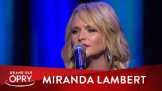 """Miranda Lambert performs a cover of Jessi Colter & Waylon Jennings' song """"Storms Never Last"""". Live at the Grand Ole Opry in Nashville, TN, on October Up Music, Music Is Life, Music Bands, Good Music, Jessi Colter, Blake Shelton Miranda Lambert, Conway Twitty, The Band Perry, Beach Music"""