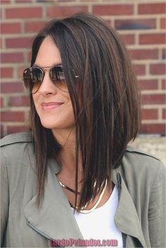 30 Beautiful Hairstyles For Shoulder Length Hair – Hair Styles Bob Haircuts For Women, Hairstyles Haircuts, Popular Haircuts, Wedding Hairstyles, Trendy Hairstyles, Layered Haircuts, Choppy Haircuts, Inverted Bob Hairstyles, Trending Haircuts For Women