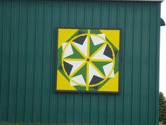 John Deere barn quilt