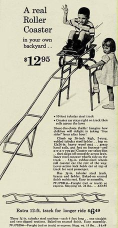 This looks safe. lol. 1960s catalog ad.