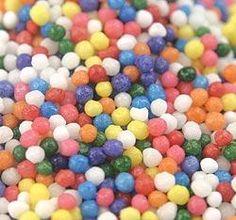 8 lbs of sprinkles for 18 buckaroos.