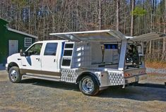 Georgia Farrier Supply, Inc. Welding Trailer, Welding Trucks, Welding Rigs, Diesel Trucks, Ford Trucks, Pickup Trucks, Custom Truck Beds, Custom Trucks, Truck Bed Box