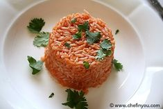 Easy Mexican Tomato Rice Recipe (or is it Spanish rice? Mexican Rice Recipes, Mexican Dishes, Spanish Rice Recipe, Tomato Rice, Cook Up A Storm, Enchilada Recipes, Vegan Recipes, Delicious Recipes, Yummy Food