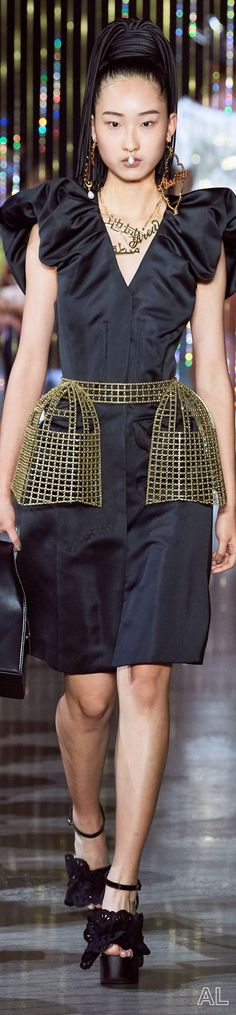 Area SPRING 2020 READY-TO-WEAR Peplum Dress, Sequin Skirt, Ny Fashion Week, Spring Summer Fashion, Ready To Wear, Couture, Skirts, How To Wear, Dresses