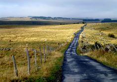 petite route en Aubrac , Lozère