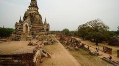 One Chedi at Wat Phra Si Sanphet