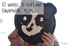 10 Ways to Explore Dramatic Play