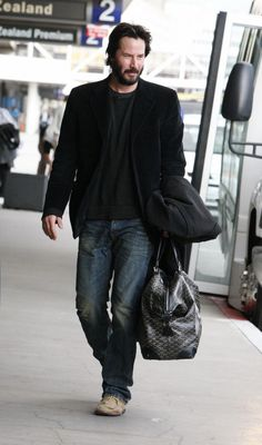 2 of my faves, Keanu and Goyard - together = Perfection
