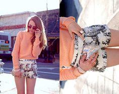 Patterned shorts - spring break ideas
