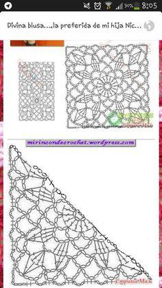 Transcendent Crochet a Solid Granny Square Ideas. Inconceivable Crochet a Solid Granny Square Ideas. Gilet Crochet, Crochet Cap, Crochet Jacket, Love Crochet, Crochet Shawl, Diy Crochet, Irish Crochet, Crochet Doilies, Crochet Flowers