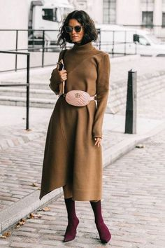 Next Post Previous Post Fall Street Style Outfits to Inspire Herbst Street Style Fashion Week Street Style Outfits, Looks Street Style, Autumn Street Style, Mode Outfits, Street Chic, Winter Outfits, Fashion Outfits, Dress Winter, Dress Fashion