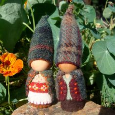 Different than the gnomes I'm used to but they're still pretty cute!