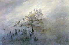 Morgennebel im Gebirge (1808) | Василий Б | Flickr