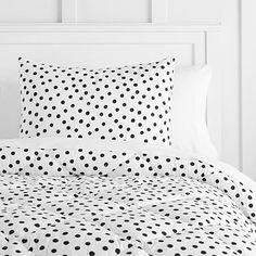 The Emily & Meritt Painted Dot Comforter + Sham #pbteen