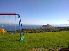 Bajaloglia Castelsardo - 19 aprile 2013  Panorama dall'entrata del resort