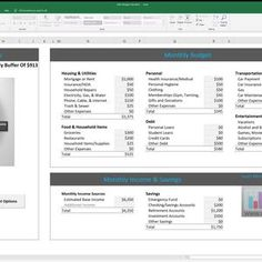 Excel Budget Planner Spreadsheet Workbook Template For Excel | Etsy Budget Planner Template, Monthly Budget Planner, Budget Spreadsheet, Debt Snowball Calculator, Interactive Dashboard, Budgeting Tools, Create A Budget, Financial Institutions, Templates