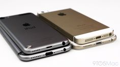 Video: Gold and Space Gray iPhone 6 mockup vs iPhone 5s, 5th gen iPod touch, and alleged iPhone 6 cases