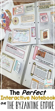 Fall of Rome and Early Byzantine Empire Unit for Interactive Social Studies Notebook! Social Studies Notebook, 6th Grade Social Studies, Social Studies Classroom, Teaching Social Studies, Teaching History, History Teachers, History Class, 6th Grade Activities, Teaching Activities