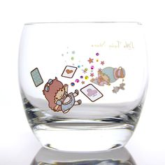【2013】【Crystal Scene x LTS】Decorated Glass (¥6,300, 約直径9×高さ8.4cm) ★Little Twin Stars★
