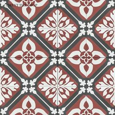 Cement Tile Shop - Handmade Cement Tile | Calais Pattern