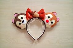 Chip and Dale Mickey Ears