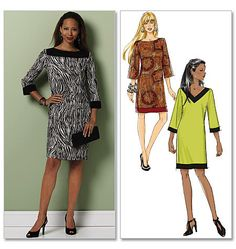 Misses'/Misses' Petite Dress Butterick Pattern B5415