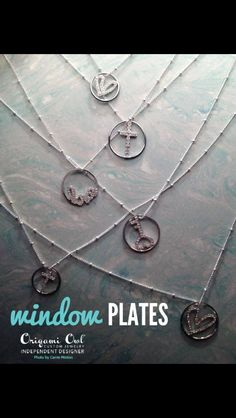 Window plates origami owl Origami Owl Locket Independent