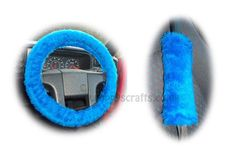 Cute Royal Blue fuzzy steering wheel cover and 1 pair of seatbelt pads handmade from shortpile faux fur fabric. Fabulous colour, make great gifts ! Vintage Car Nursery, Vintage Car Party, Car Accessories For Girls, Jeep Accessories, Fuzzy Steering Wheel Cover, Seat Belt Pads, New Luxury Cars, Disney Cars Birthday, Cute Cars