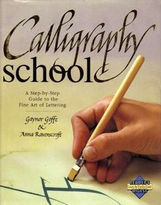 The Calligraphy School Guide to the Fine Art Of Lettering | PetitPoulailler - Books & Magazines on ArtFire