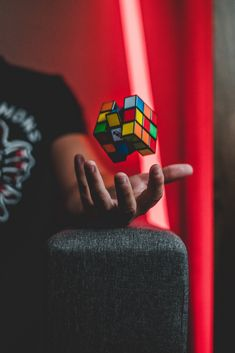 person tossing Rubik's cube Indoor Photography, Object Photography, Moon Photography, Photography Poses For Men, Creative Photography, Lightroom, Photoshop, Supervised Learning, Distributed Computing